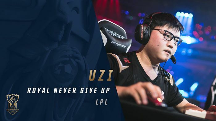 Uzi chia tay Royal Never Give Up - ảnh 1