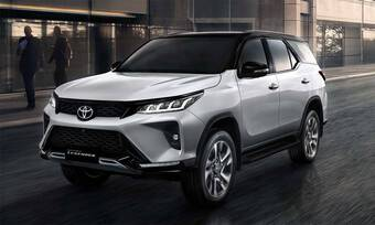 Toyota Fortuner mới sửa thiết kế