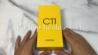 Realme C11 - smartphone giá rẻ chạy Android 10