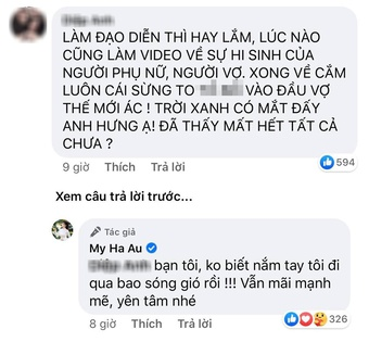 Âu Hà My sau 1 đêm tố chồng ngoại tình