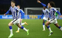 Hertha Berlin giành ba điểm trước Union Berlin