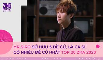 Top 20 giải Zing Music Awards: Binz là rapper có nhiều đề cử nhất, K-ICM vượt mặt Jack