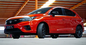 Honda City Hatchback 2021 ra mắt tại Indonesia