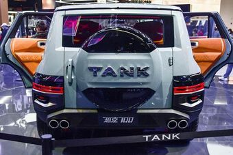 Great Wall Tank 700 - xe off-road hạng sang của Trung Quốc
