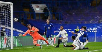 Thắng Real Madrid 2-0, Chelsea vào chung kết Champions League