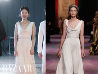 Suzy diện haute couture của Dior: Nặng nề hay thanh thoát?